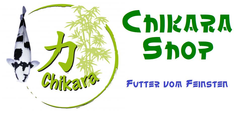 Chikara Koi Futter Shop Koifutter für Anspruchsvolle-Logo